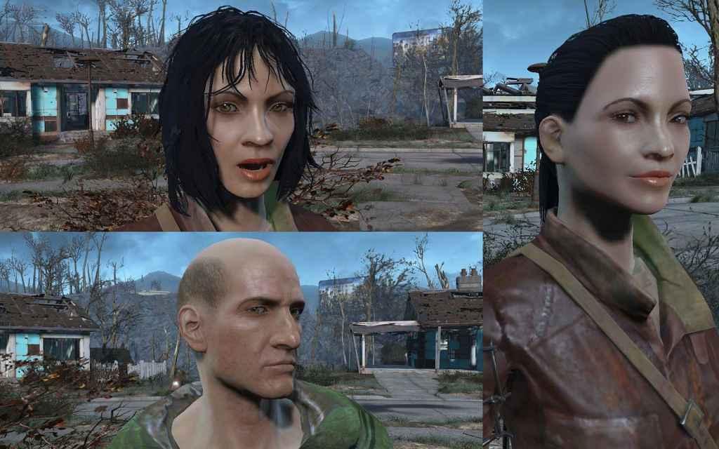 Мод Fallout 4 — Новые поселенцы — Новые лица