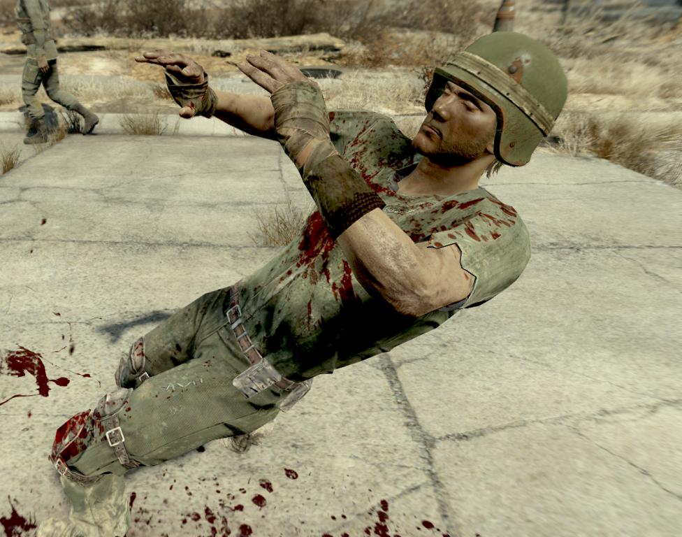 Fallout 4 — Реалистичная физика тел