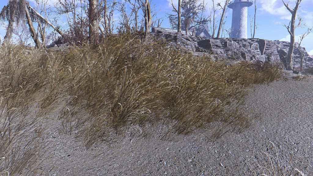 Мод Fallout 4 — Трава. Оптимизация