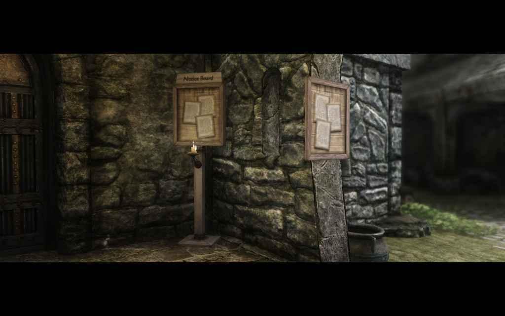Мод Skyrim — Доски Объявлений (The Notice Board)