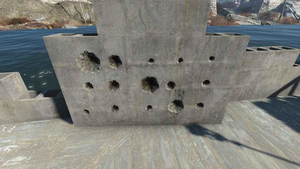 Мод Fallout 4 — Следы от выстрелов