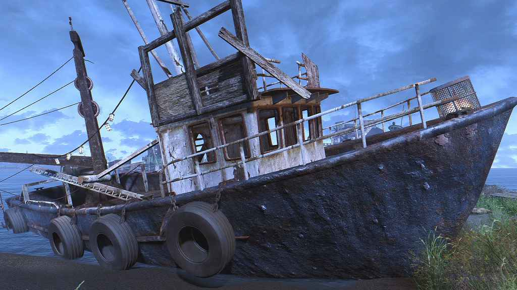Мод Fallout 4 — Лодки HQ