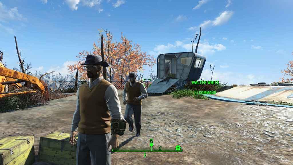 Мод Fallout 4 — Уолтер Уайт