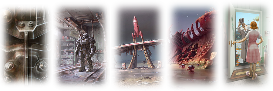 Мод Fallout 4 — Реплейсер Главного Меню