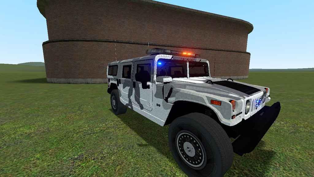 Garry's Mod 13 — Автомобиль Hummer [Photon]