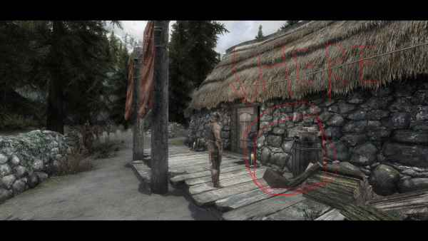 Мод Skyrim — Гигантский Молот