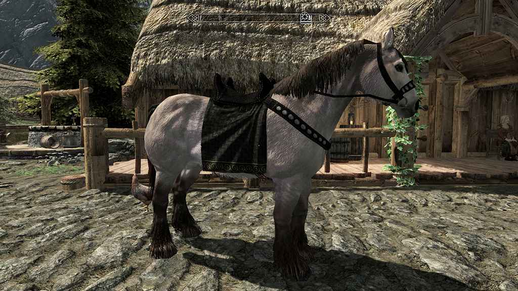 Мод Skyrim — Лошадиные Сёдла HD