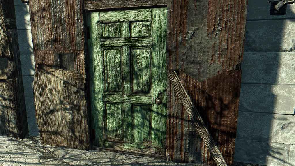 Мод Fallout 4 — Окрашенные Двери