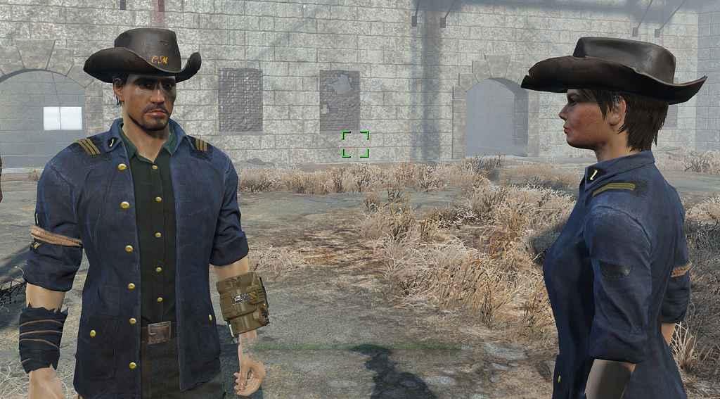 Мод Fallout 4 — Реплейсер одежды Минитменов