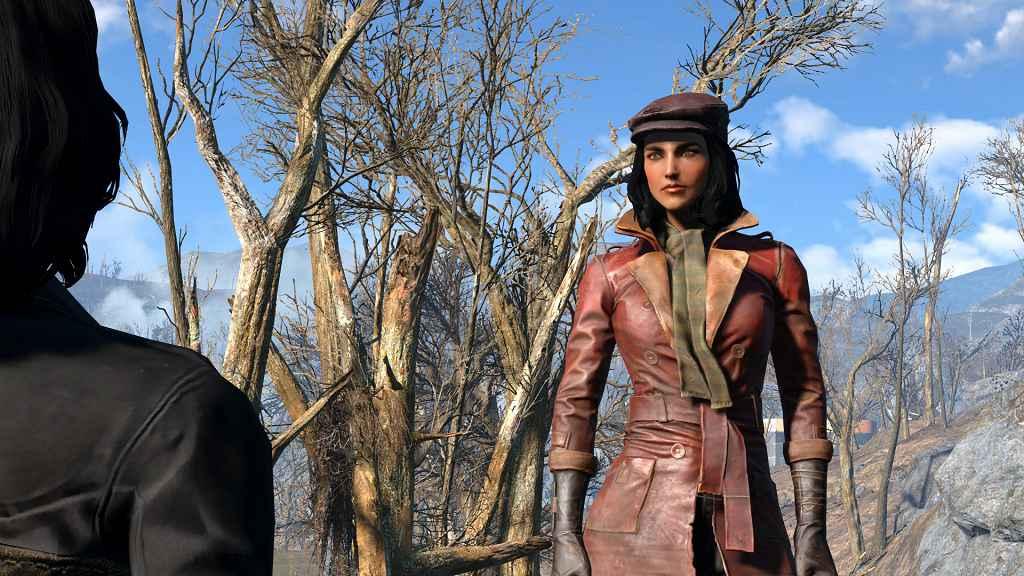 Мод Fallout 4 — Улучшение лица Пайпер