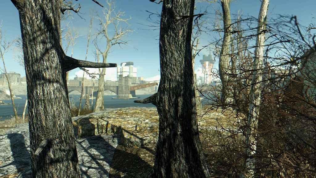 Мод Fallout 4 — Оптимизированные текстуры деревьев