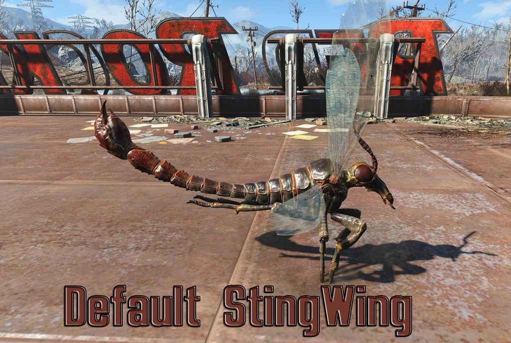 Мод Fallout 4 — Реплейсер Жалокрылов