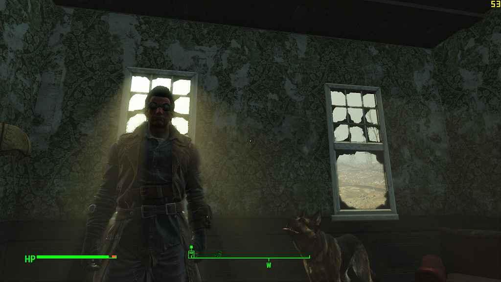 Мод Fallout 4 — Плавные динамические тени от солнца (Smoother Sun Shadow Movements) (настройка, не мод)