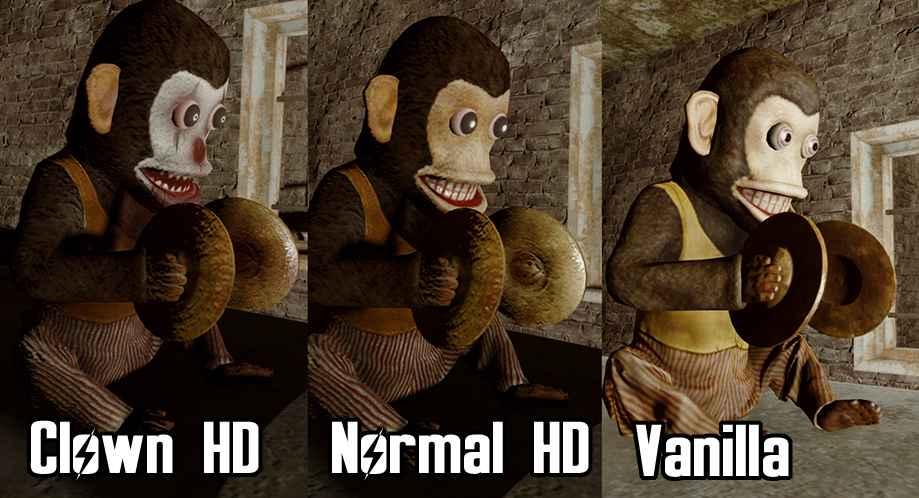Мод Fallout 4 — Жуткие обезьяны-клоуны (Scary Clown Monkey Trap HD)