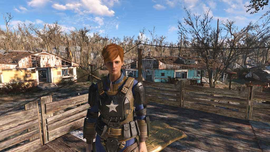 Мод Fallout 4 — Новая прическа Пайпер (Prettier Piper (Redhead))