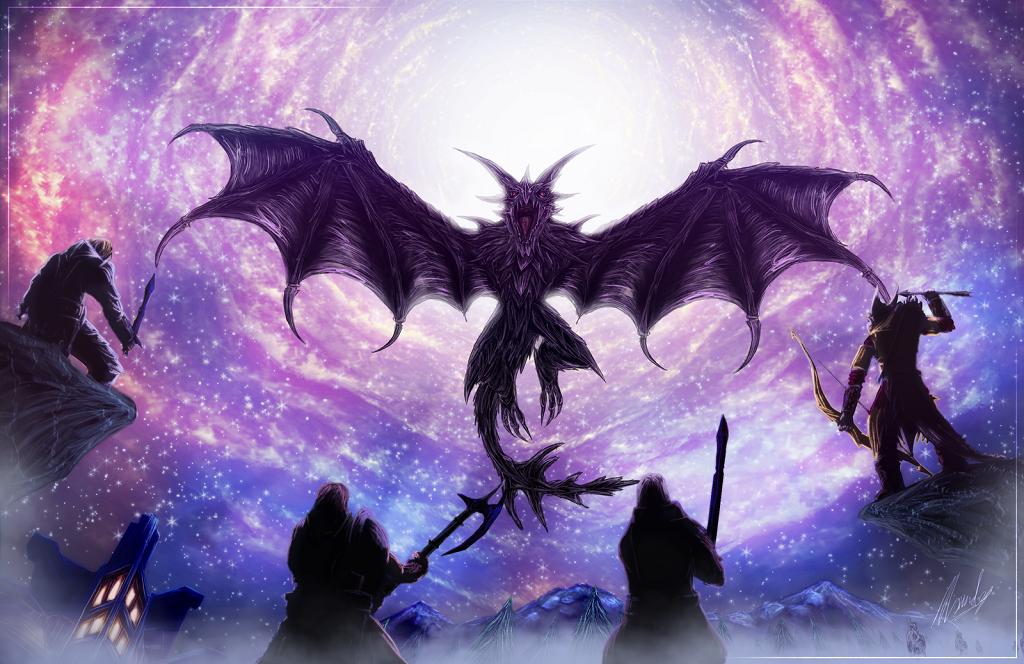 Мод Skyrim — Древние Герои