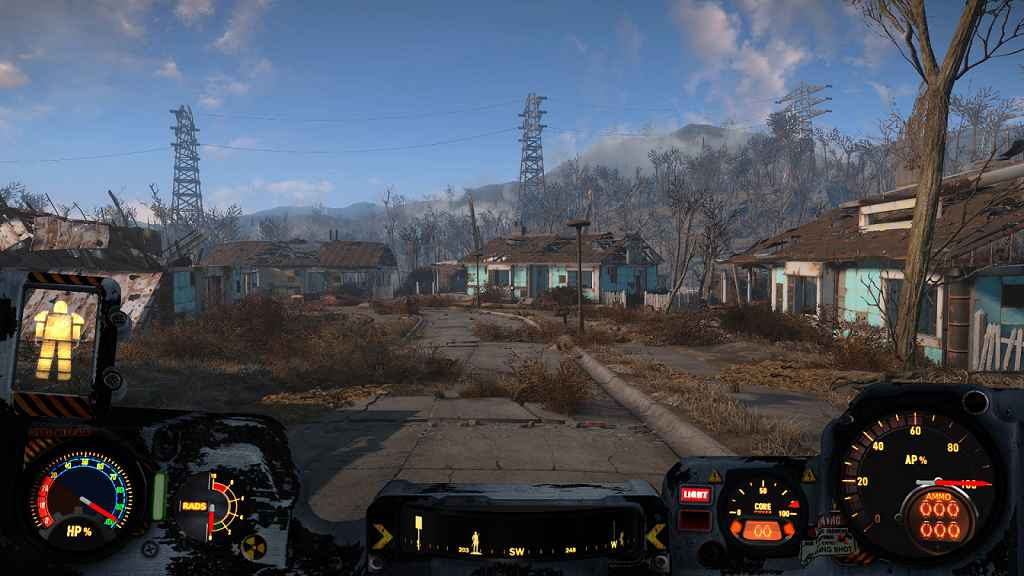 Мод Fallout 4 — Ретекстуры для интерфейса силовой брони (HUD)