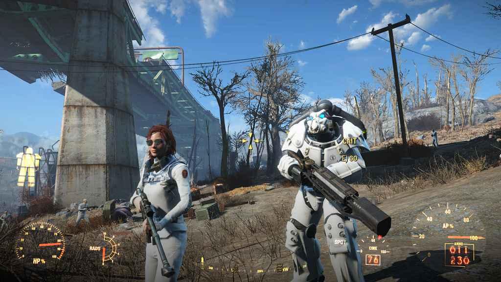 Мод Fallout 4 — Снимаем Униформу с Синтов