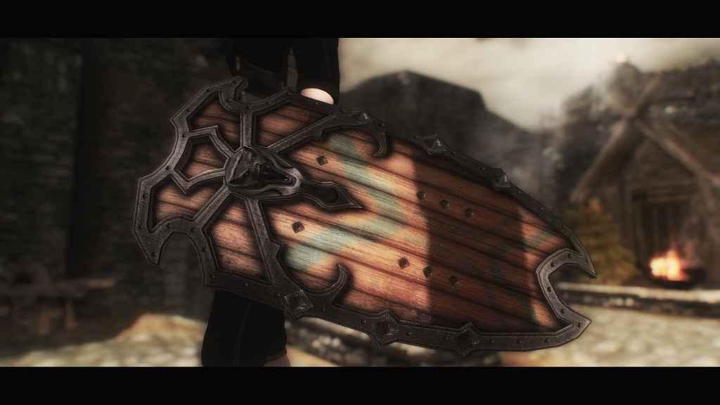 Мод Skyrim — Щит Железного Волка