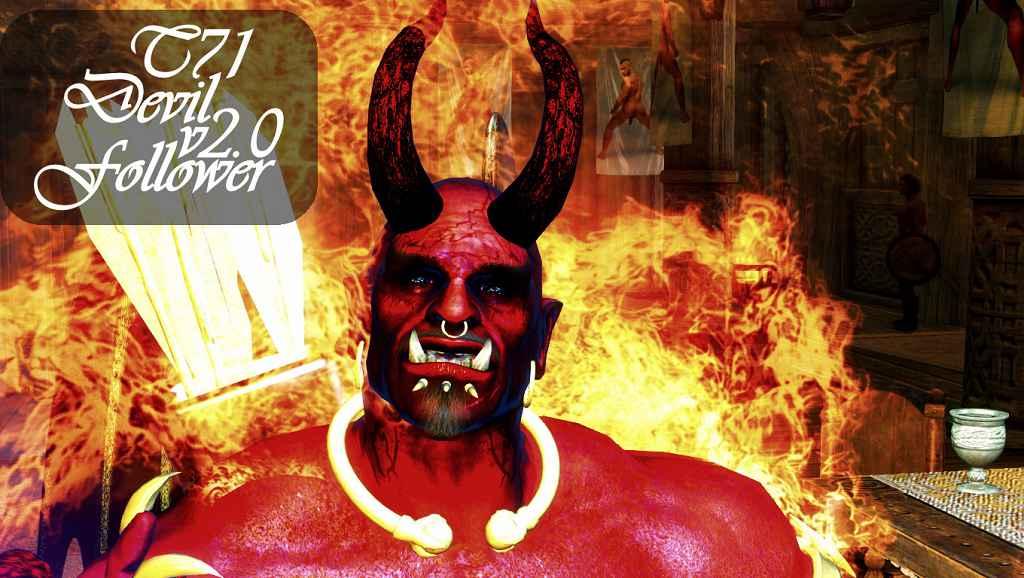 Мод Skyrim — Компаньон Дьявол