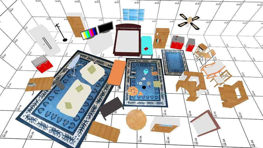 Мод Garry's Mod 13 — Домашняя мебель (Props)