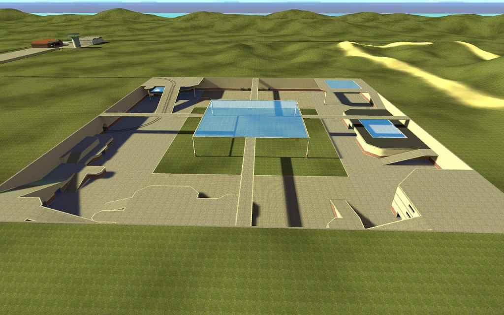 Мод Garry's Mod 13 — Карта gm_freebuild