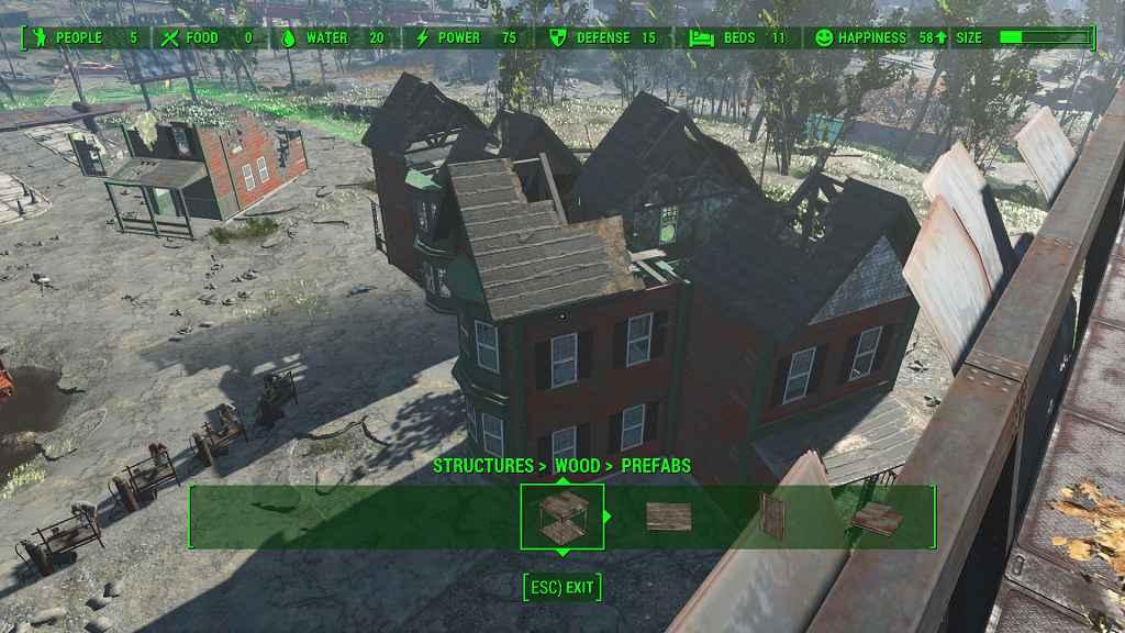 Мод Fallout 4 — новые пресеты домов