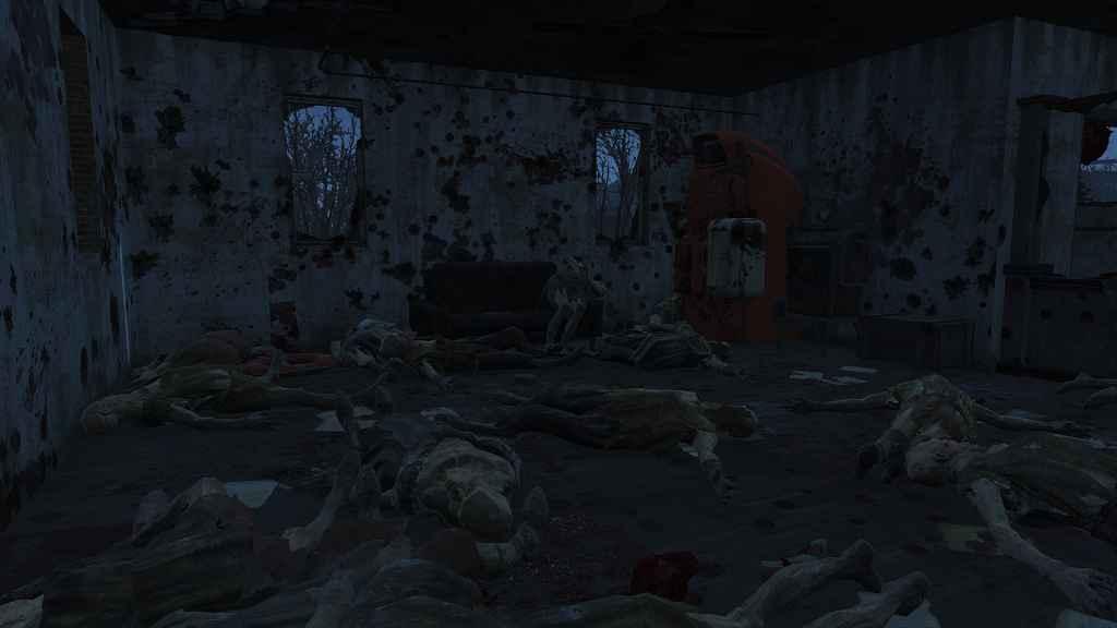 Мод Fallout 4 — Больше крови