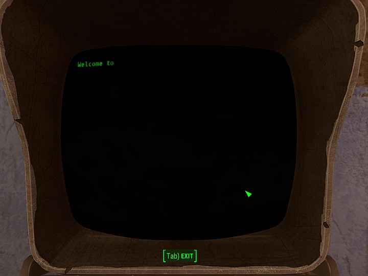 Мод Fallout 4 — Быстрый текст в терминалах