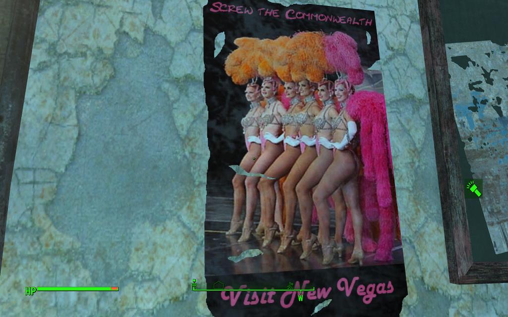 Мод Fallout 4 — Новые плакаты и вывески (18+)