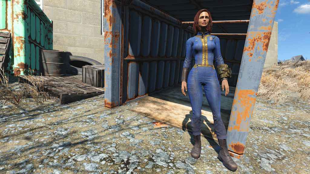 Мод Fallout 4 — Оригинальная одежда для тел CBBE