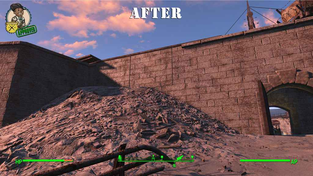 Мод Fallout 4 — Восстановление замка Минитменов