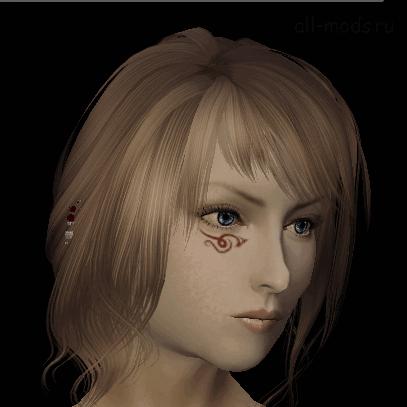 Мод Skyrim — боевая раскраска девушек