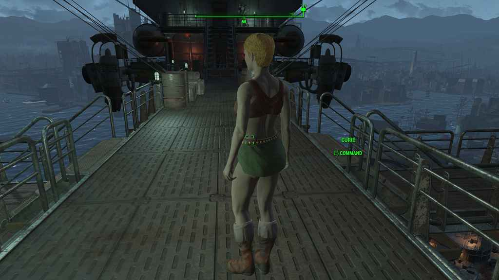Мод Fallout 4 — Укороченный костюм Грогнака (для CBBE)