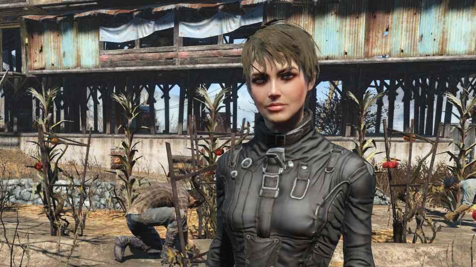 Мод Fallout 4 — Реплейсер Кюри