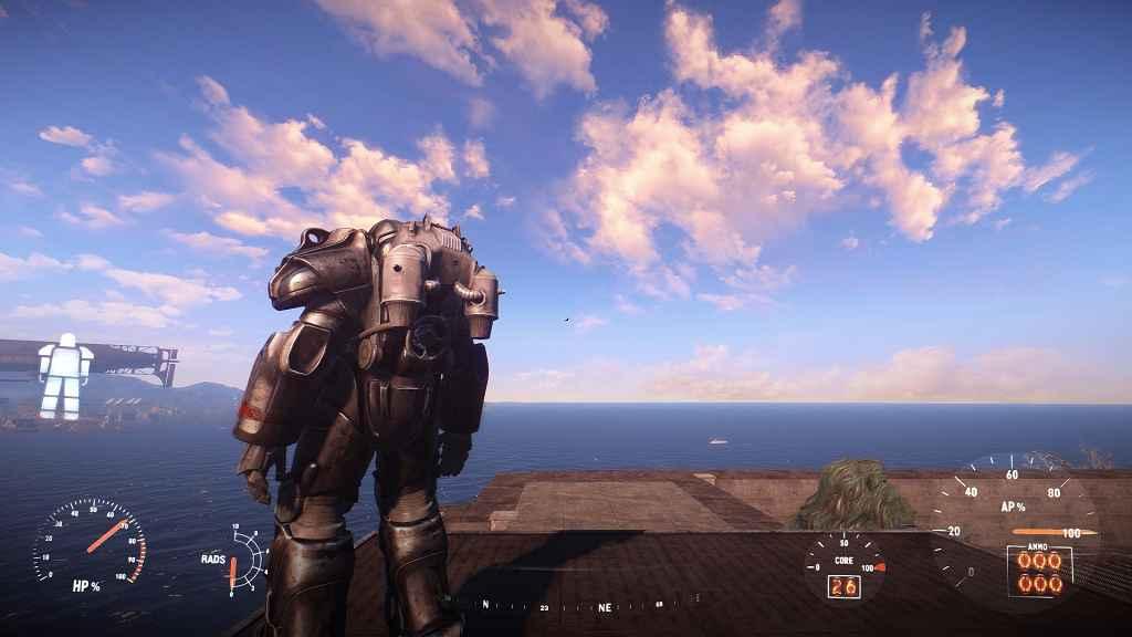 Мод Fallout 4 — Компактный Джетпак