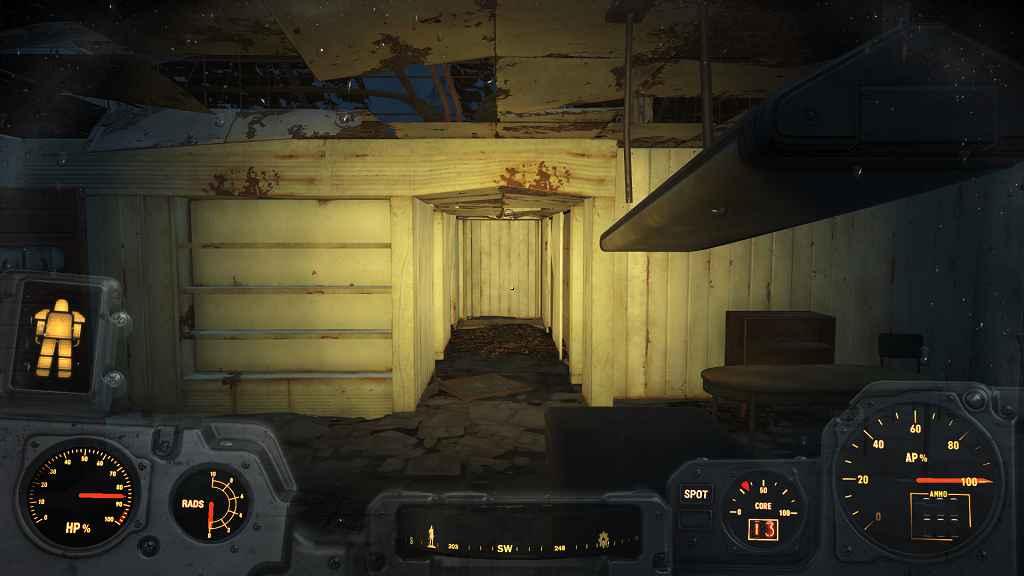 Мод Fallout 4 — Увеличение дальности свечения фонарика