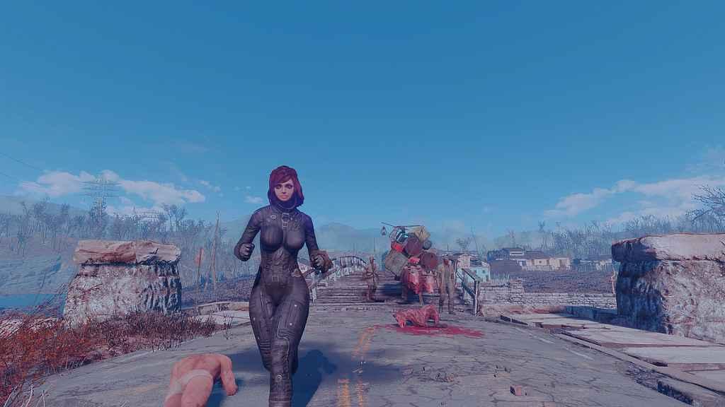 Мод Fallout 4 — Новая форма Братства Стали (для CBBE)