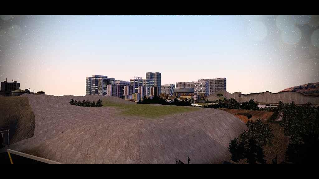 Мод Garry's Mod 13 — Карта Paralake City