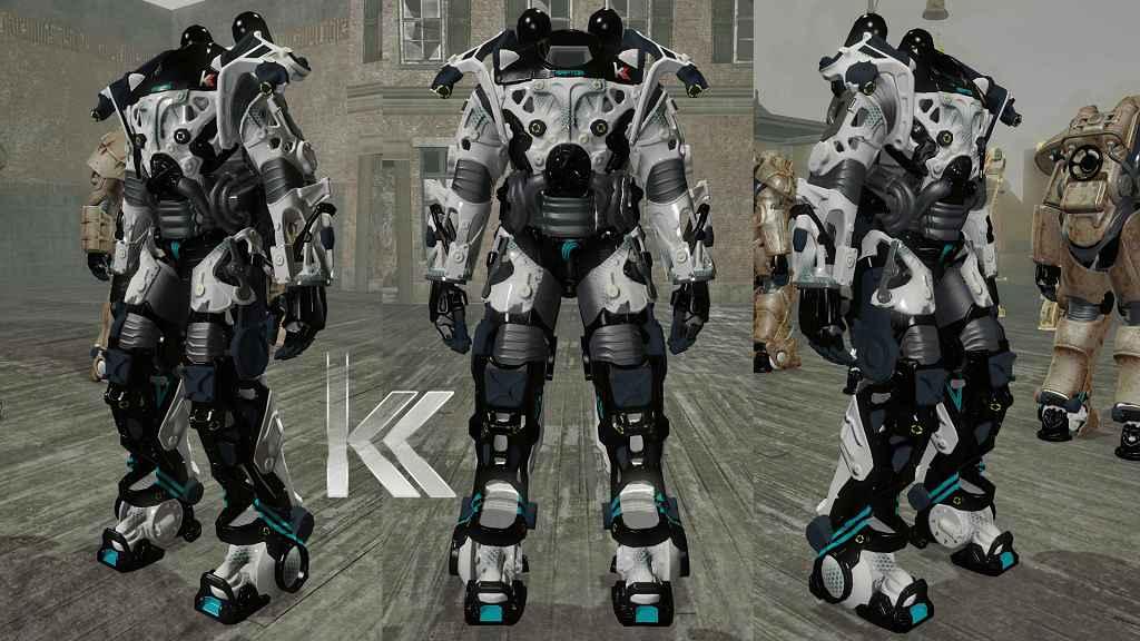 Fallout 4 — Каркас силовой брони «Раптор»