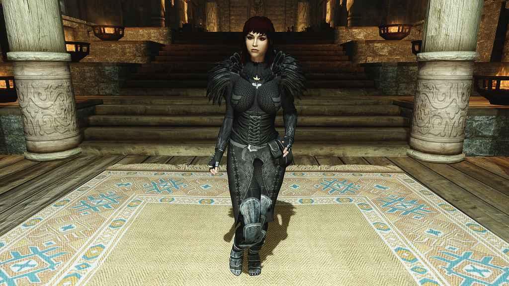 Мод Skyrim — Броня леди «Вронон» для CBBE HDT Bodyslide
