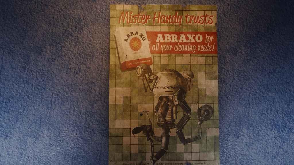 Мод Fallout 4 — Лорные постеры
