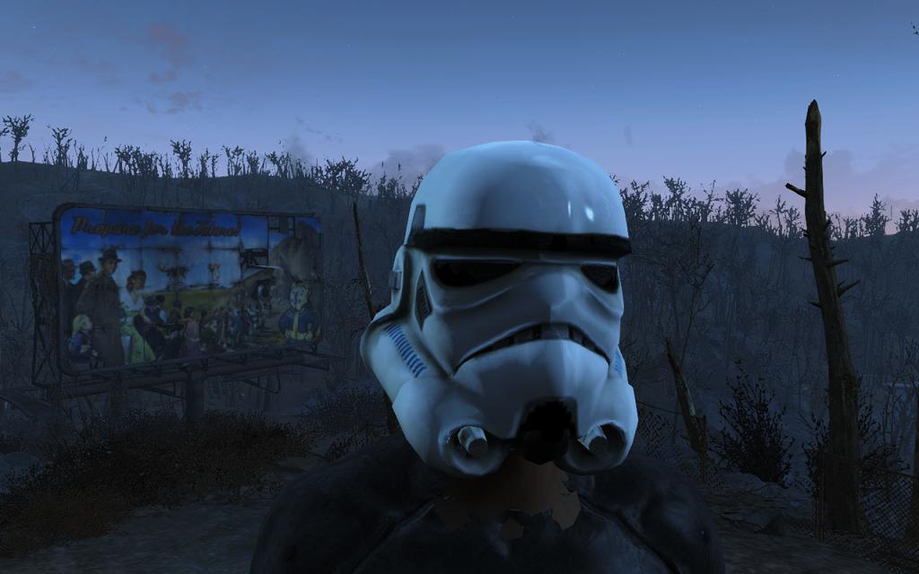 Мод Fallout 4 — Шлем Штурмовика