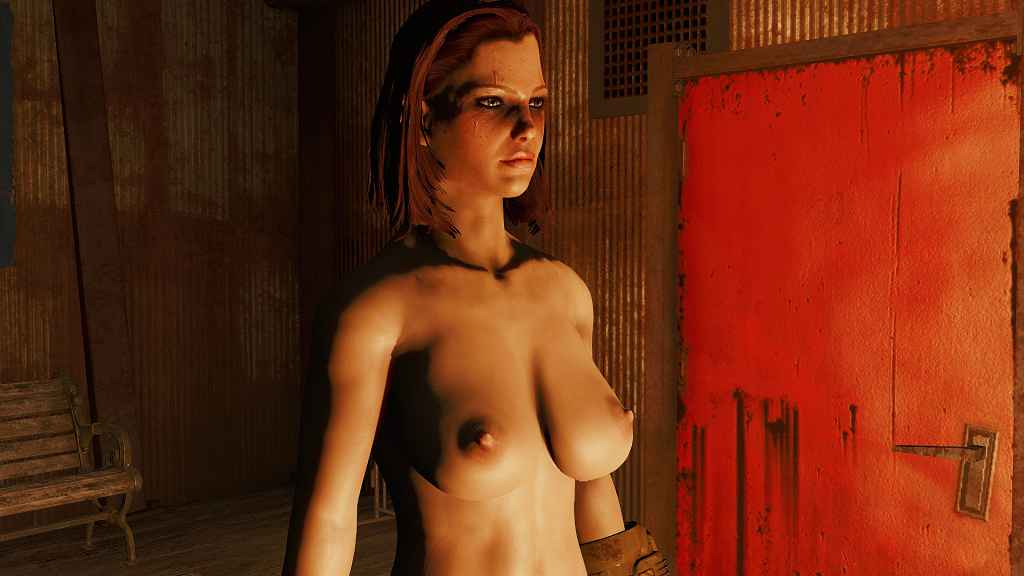 Мод Fallout 4 — Натуральная грудь для CBBE