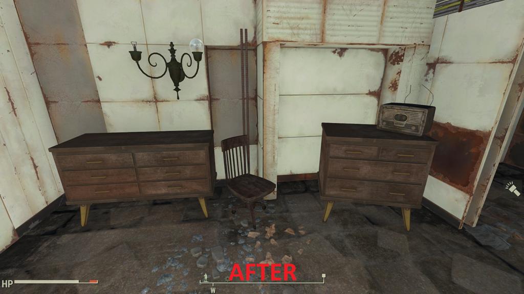 Мод Fallout 4 — Нет сломанным шкафам!