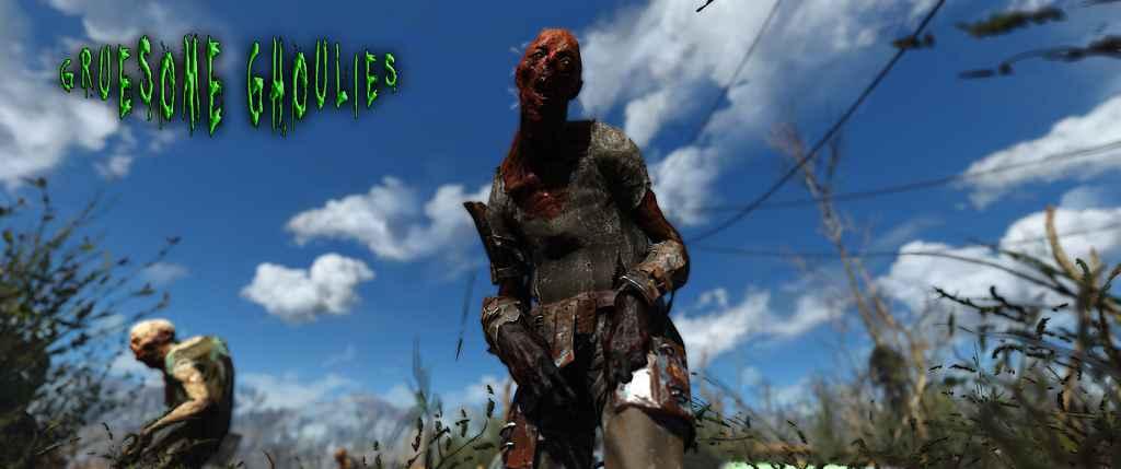 Мод Fallout 4 — Ужасные Гули