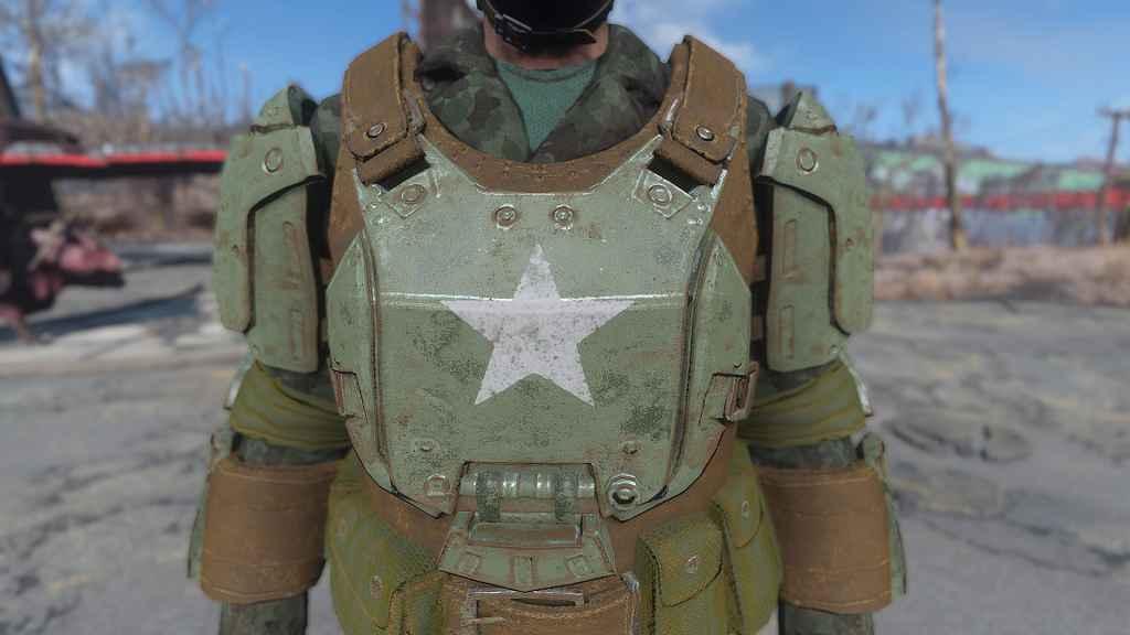 Мод Fallout 4 — Боевая Броня, Реплейсер