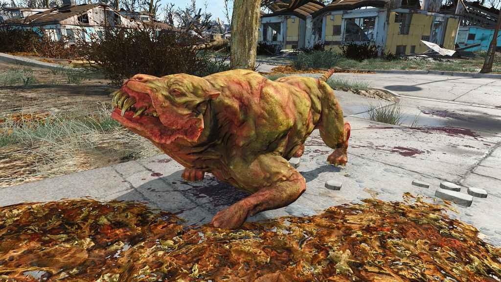 Мод Fallout 4 — Реплейсер Гончей