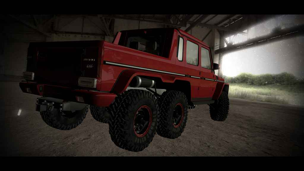 Мод Garry's Mod 13 — Автомобиль Mercedes-Benz G65 [Photon]