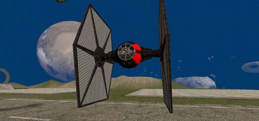 Мод Garry's Mod 13 — Истребитель из Звездные Войны 7